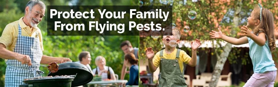Mosquito Magic protects your family from flying pests naturally!